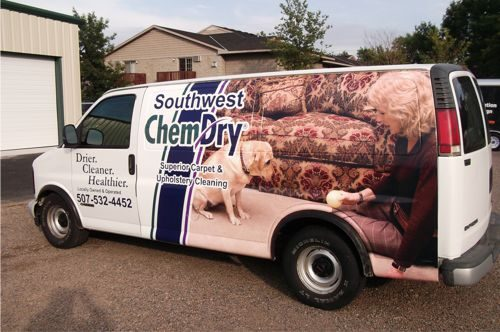 Southwest Chem-Dry Van
